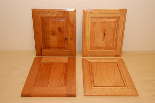 Custom Design Woodworks Blog Archive Aged Vs Newly Finished - Cherry vs maple kitchen cabinets