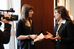 DFID Youth Reporter interviews Minouche Shafik