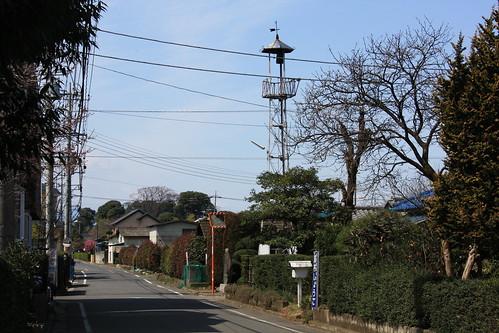 所沢新田の火の見櫓