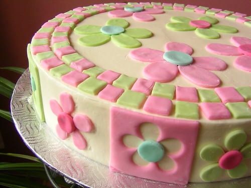 Flower cake punch-outs