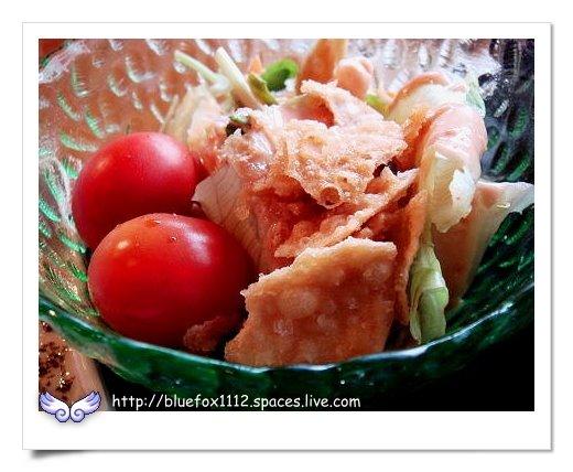 090308金山塔帕笠屋14_烤鮮魚定食-鮮蔬沙拉
