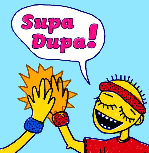 Supa Dupa! - CD cover 1