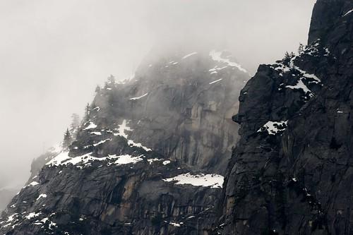 Snow-Covered Ridges, Yosemite