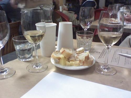 loire wine tasting @ 3cups in Chapel Hill