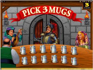 sir winsalot bonus game