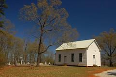 Unknown White Frame Church