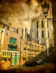Manchester Mews (sbuliani) Tags: old london sepia photoshop manchester nikon explore mews stefano marylebone d90 impressedbeauty buliani manchestermews