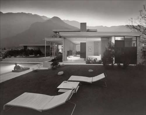Richard Neutra, Kaufman House, Palm Springs, photographed by Julius Shulman
