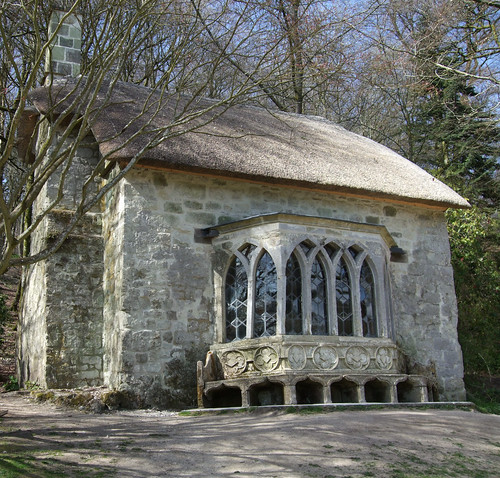 The Gothic Cottage, Stourhead, Wiltshire.