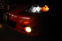 DSC_2641 (Momo's~|~D300) Tags: red 3 yellow fog lights nikon gt mazda velocity tamron mica axela 2875mm d80