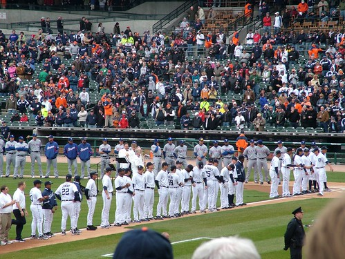 Tigers Opening Day Team Intro