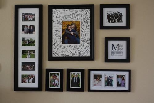 Photo wall arrangements - Picture arrangements on wall ...