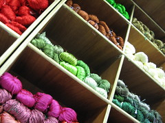 yarn shop display