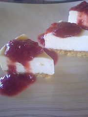 มินิสตอเบอรี่ชีสเค้ก ลาเอนาตู ปราณบุรี