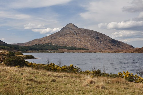 Ben Stack across Loch More