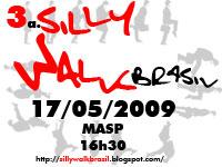 3ª. Silly Walk Brasil - selo