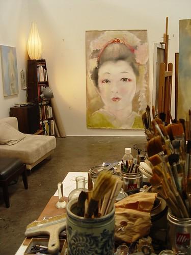 Studio with Karyūkai ( 花柳界)