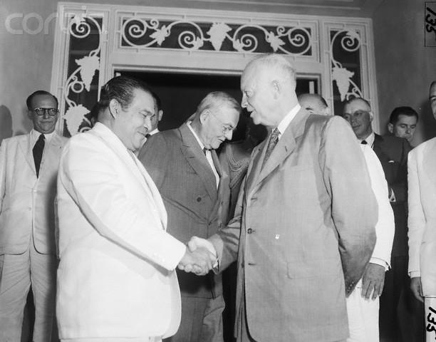 Batista-Eisenhower, Panama 1956