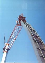 St.Louis Arch-2,summer 1965 (torinodave72) Tags: memorial arch stlouis gateway jefferson expansion