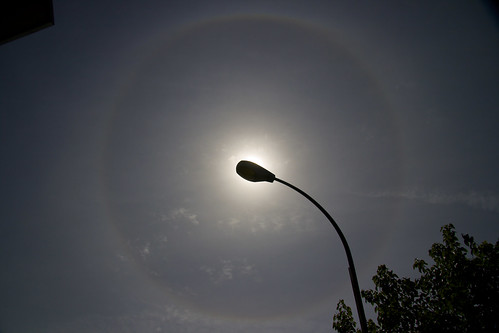 solar halo on Earth day