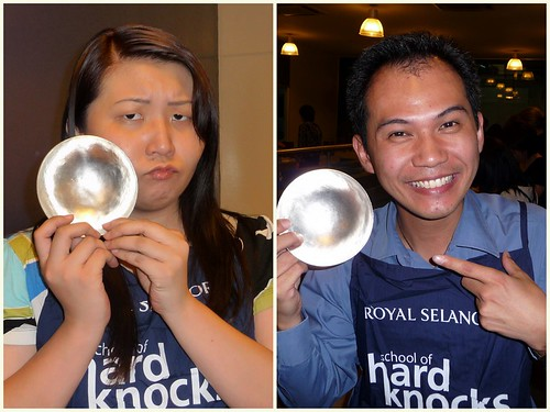 Royal Selangor School of Hard Knocks - Suanie vs Horng's pewter bowl
