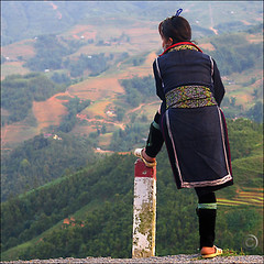 Soon we will plant the Rice (NaPix -- (Time out)) Tags: portrait woman mountain black night composition landscape hope waiting asia southeastasia view rice action dusk embroidery culture landmark vietnam explore rest resting ricepaddies milestone journalism sapa hmong montains hilltribe endofday minorities riceplanting indigoblue ponderinglife explored explorefrontpage flickrsbest tellastory apurbo canonpwershotg6 napix mounghoavalley soonwewillplanttherice hmonglife liensonmountainrange over30admininvites