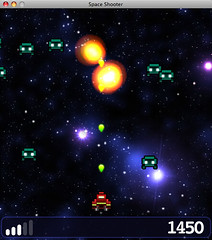 Space shooter preview