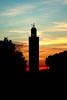 Kutubya at dawn! (elyoussefi) Tags: sunset dawn morocco marrakech مسجد الغروب المغرب مراكش kutubiya kutubya منارة الكتبية kutubiyah