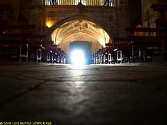 Santa Mara de Oia (Luis Matas) Tags: church lamp iglesia monasterio oia monastry lmpara baiona parador cristaleras