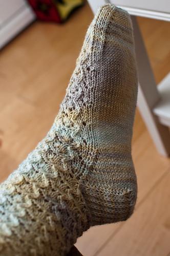 Glynis Socks - WIP