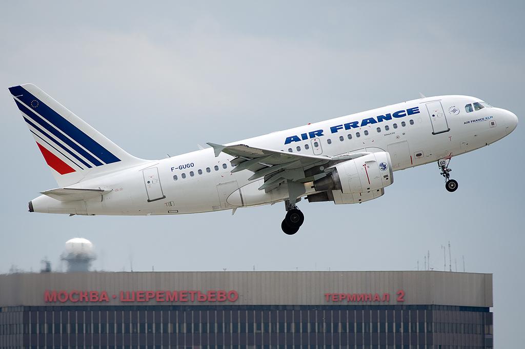 Air France F-GUGO Airbus A318-111