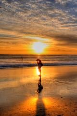 Sunrise at Burleigh Heads, Gold Coast, Australia (5ERG10) Tags: ocean morning sea sun reflection sergio sunrise mirror michael nikon waves may australia queensland handheld surfers 2009 southport hdr versace dawes goldcoast d300 mainbeach sigma1020 burleighheads goaldcoast amiti 5erg10 sergioamiti
