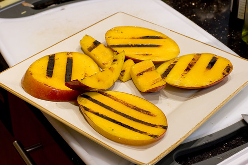 Grilled Mango Slices