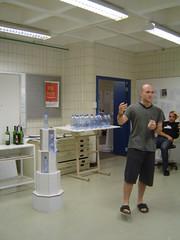 X-Board Bottled Water Display #11