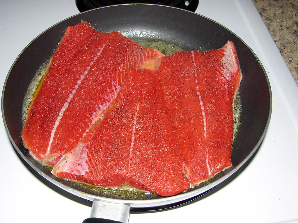 Copper River salmon
