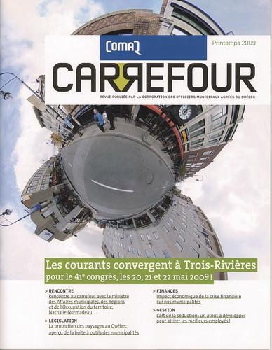 Front page du magazine Carrefour!