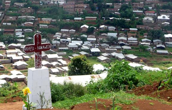 Le cimetière de Ruzizi à Bukavu