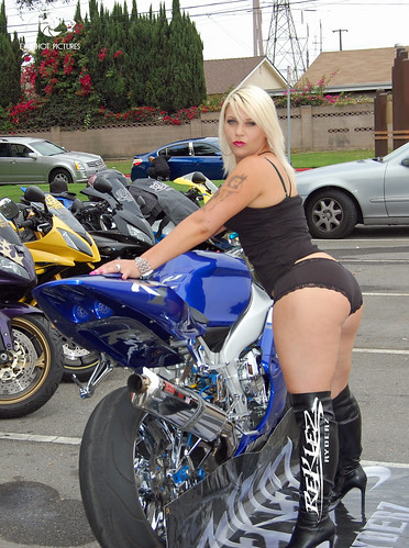 sexy girl motorcycle