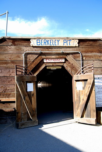 Berkeley Pit Entrance