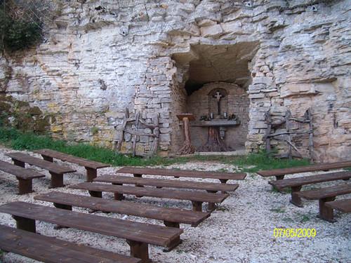 Celebrazioni esterne Santuario superiore - Santuario dello Speco