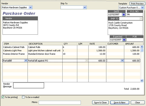 how to delete a open bill odoo
