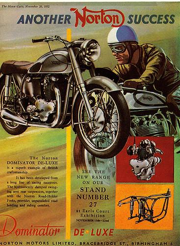 Norton Dominator 1952