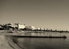 Cannes (diegofornero (destino2003)) Tags: bw panorama costa mare cannes bn cote lungomare dazur azzurra destino2003 diegofornero
