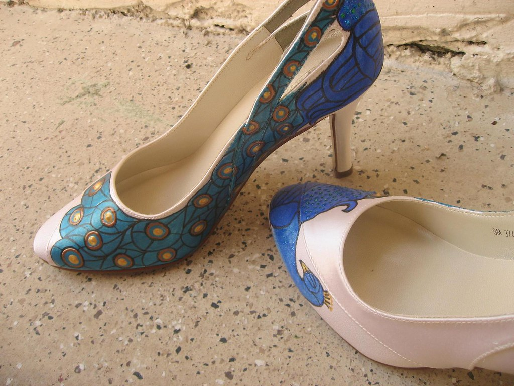 Wedding Shoes,painted by request, custom made in many designs.