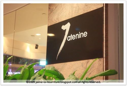 7atenine - Sign 1