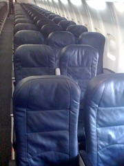 United Seats on Test 757 Cabin