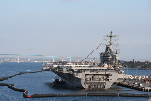 USS Nimitz - Aft