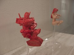100% When Gundam Meet a 100% Girl (neuston) Tags: sculpture art toy pray divine desire