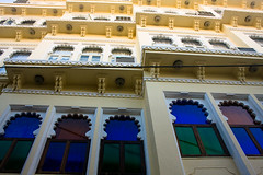 Heritage Stay (Ashish T) Tags: travel windows india heritage lines architecture hotel asia geometry royal angles rajasthan udaipur haveli ashishtibrewal