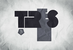 () Tags: white black typography design three bn numbers type backgrounds lettering  geom dosdecadatres dosdecadatrescom facebookcomdosdecadatres